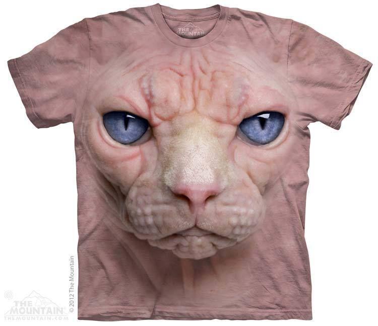 PRIKID - Hairless Pussycat Face T-Shirt, $37.00 (http://prikid.eu/hairless-pussycat-face-t-shirt/)