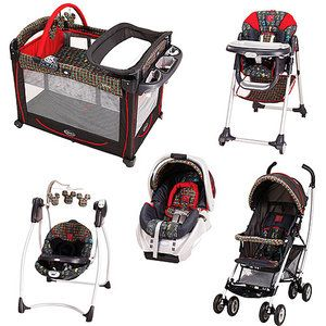 Graco Mickey Mouse In The House Collection Bundle This
