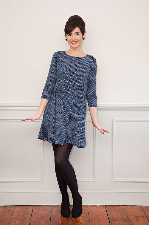 Sew Over It Nancy Dress Sewing Pattern - make yourself a pretty ...