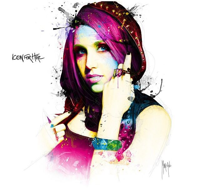 Ariel bloomer of Icon For Hire  Self titled album out 10•15