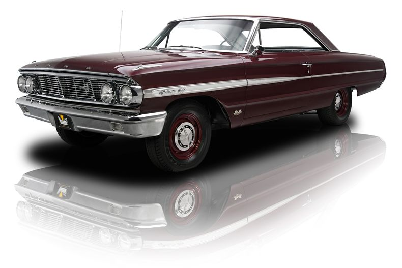 1964 Ford Galaxie 500 Maroon Was For Sale Ford Galaxie Ford