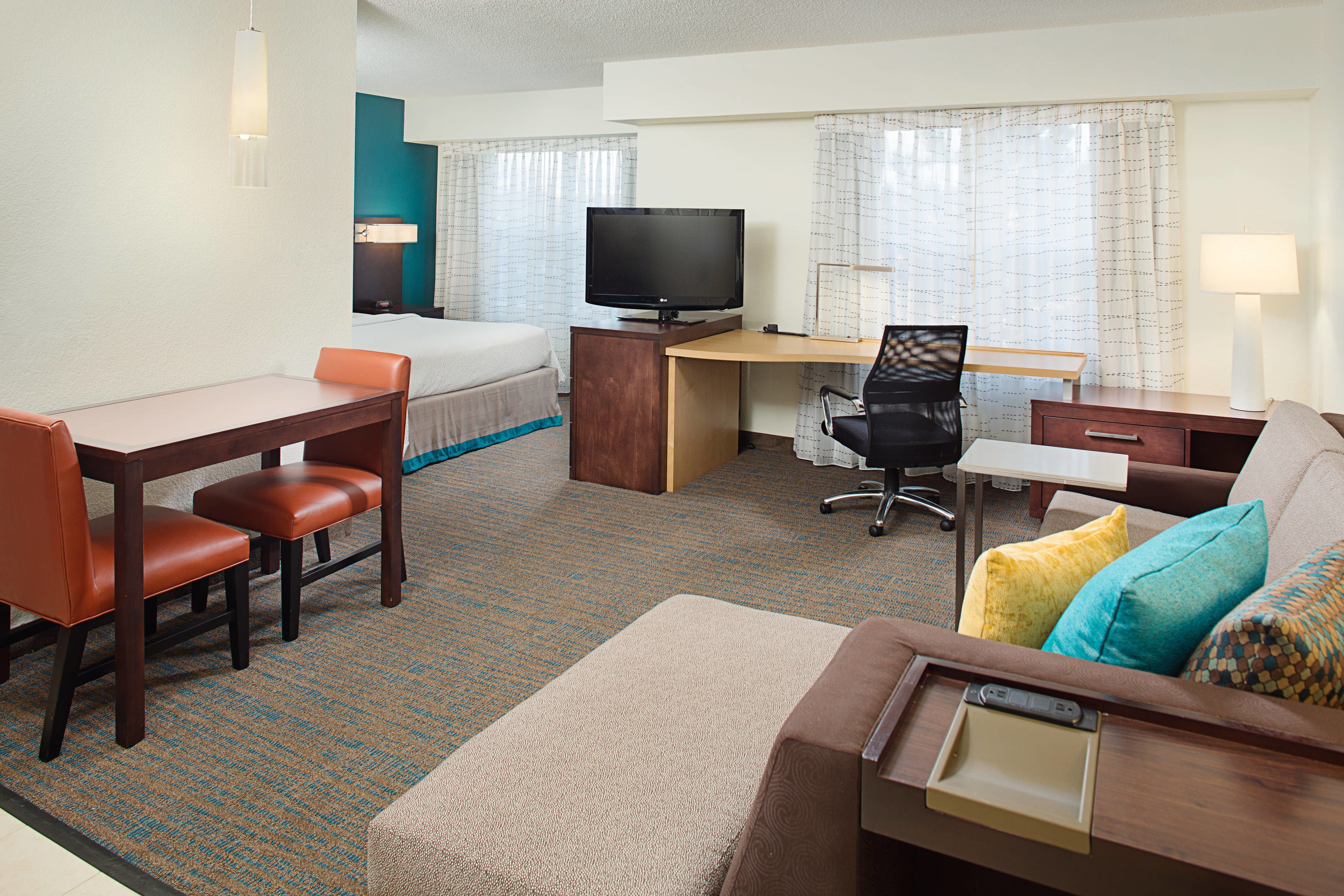 Residence Inn Chicago O Hare Studio Suite Guestroom Rooms Memorable Hotel Suites Hotel Suites