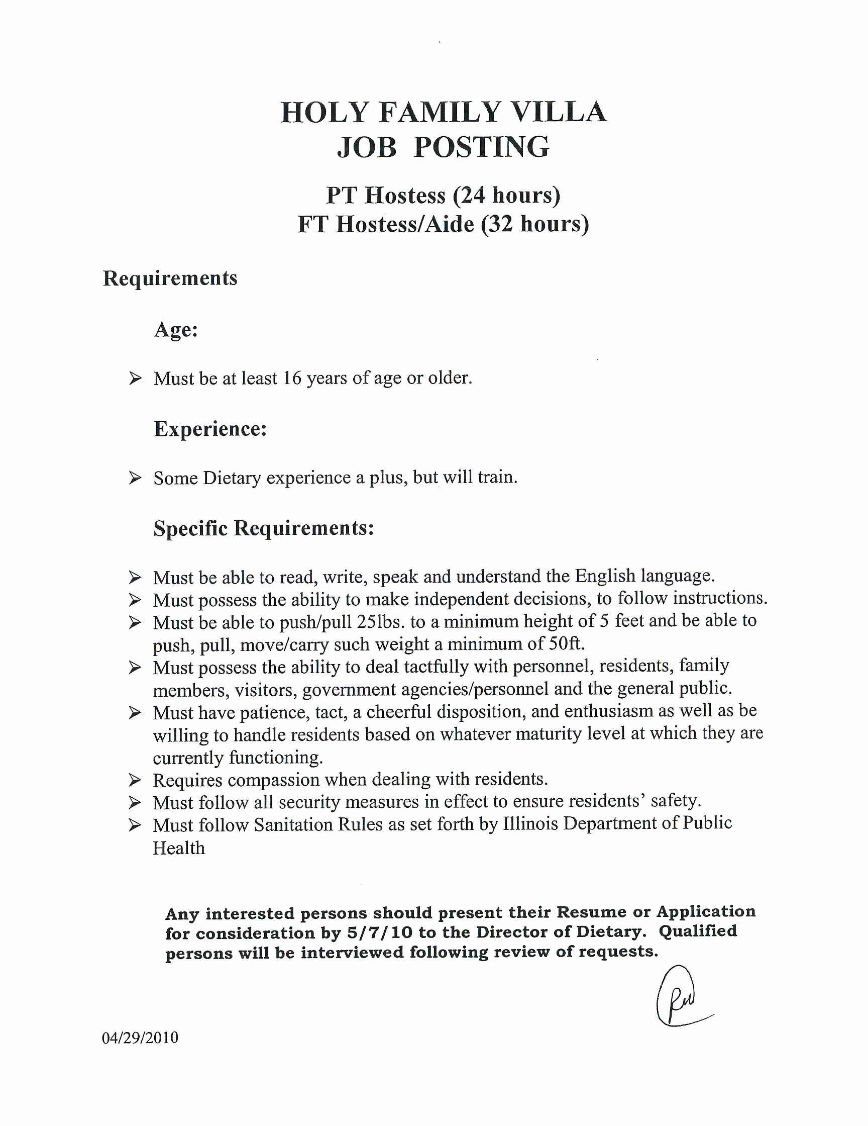 23 dietary aide job description resume in 2020 dietary