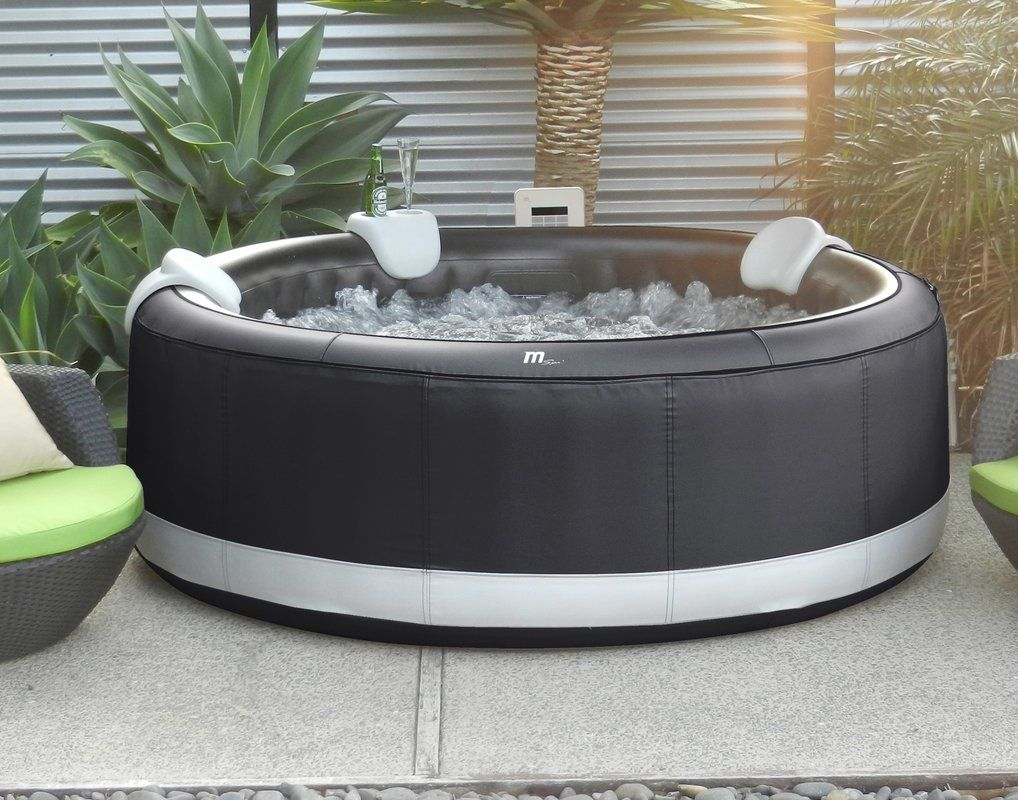 Mspa 4 Person 110 Jet Inflatable Hot Tub Reviews Wayfair