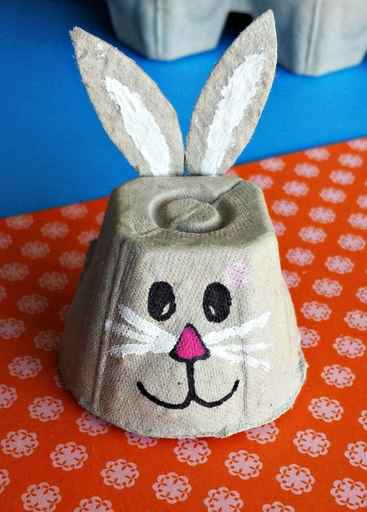 Photo of Easter crafts with egg boxes – 28 cute ideas for children & adults