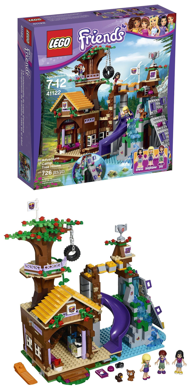 Bricks And Building Pieces 183448 Lego 41122 Friends Adventure Camp