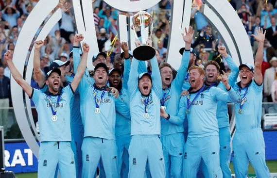 England Win Maiden World Cup After Dramatic Super Over Cricket World Cup World Cup Champions