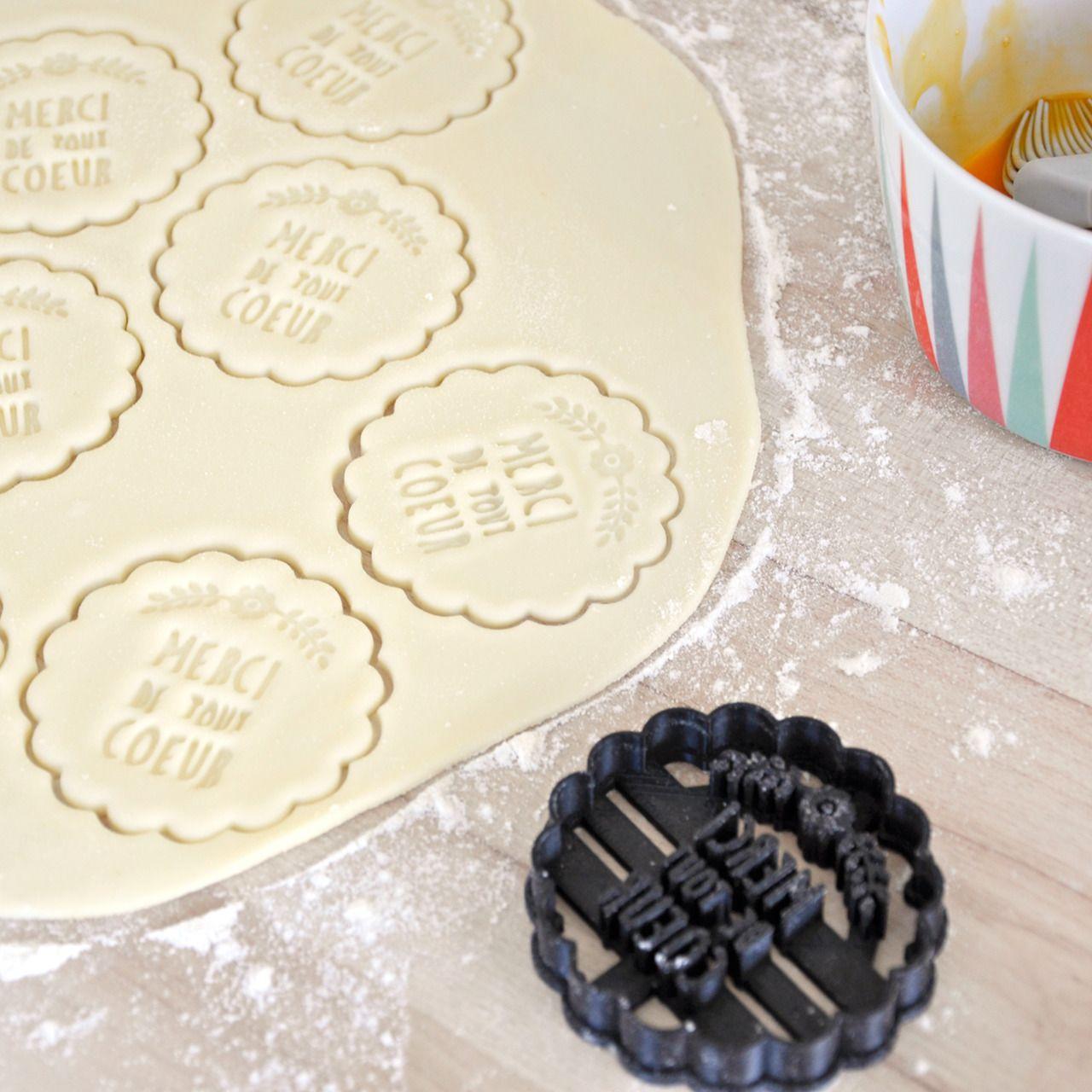 tampon biscuit mariage personnalis fleur champ tre ep001 mariage cuisine et tables. Black Bedroom Furniture Sets. Home Design Ideas