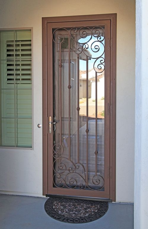 Napa Asym First Impression Security Doors Security Screen Door Security Door Screen Door
