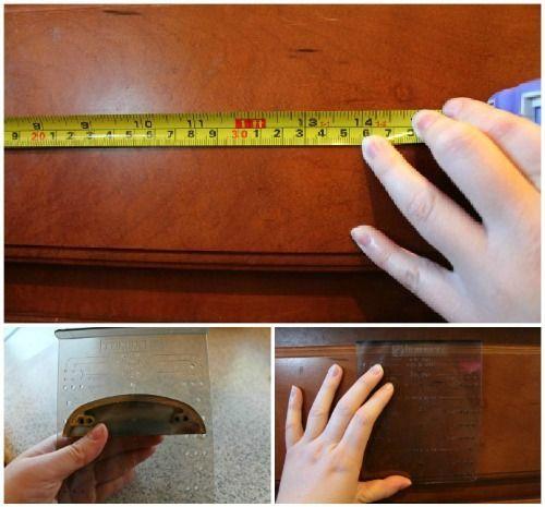 Installing Kitchen Cabinet Hardware - Away She Went # ...
