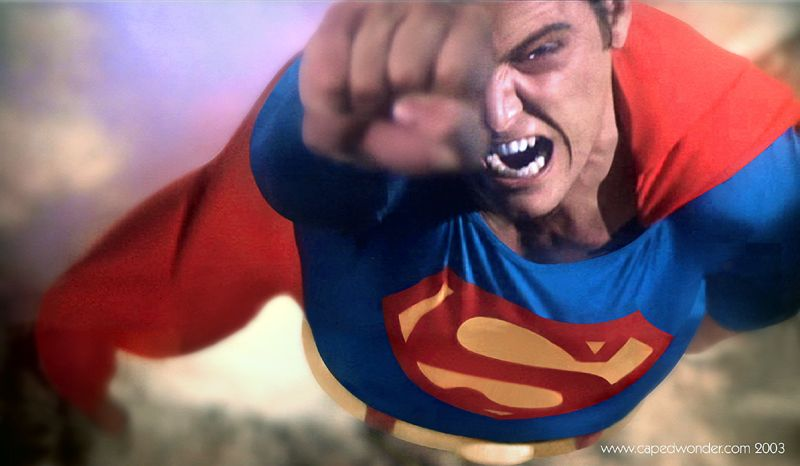 """""""Getting so angry you can spin the Earth backwards"""" #BestSuperMoment #Superman78 Best Superhero movie moments ever - The SuperHeroHype Forums"""