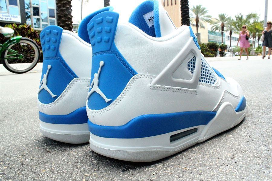 Air Jordan IV 4 Military Blue 308497-105 (2)