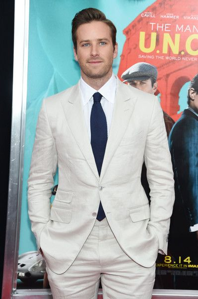 Armie Hammer at the premiere of 'The Man From U.N.C.L.E' in London