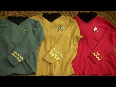 Diy Cheap And Easy Star Trek Costumes Tos Youtube Star Trek Costume Star Trek Party Star Trek Halloween Costume
