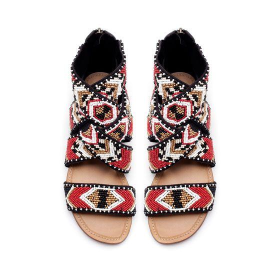 killer bead sandals