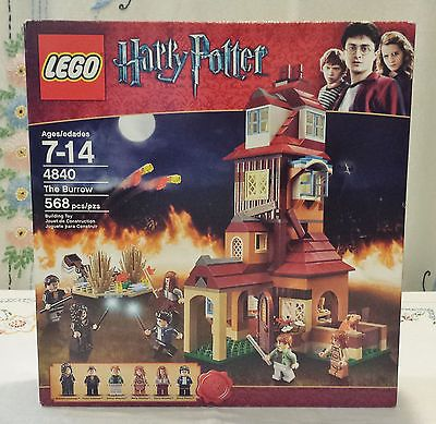 Retired Lego Harry Potter Set The Burrow 4840 New Factory Sealed Harry Potter Lego Sets Lego Harry Potter Harry Potter Diagon Alley
