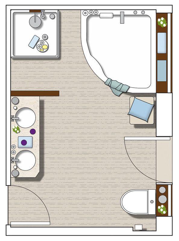 Un ba o dividido en tres zonas interiors and house for Banos divididos en tres