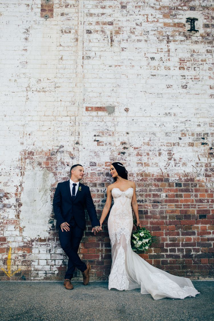 Powerhouse brisbane city wedding photography leah da gloria lace