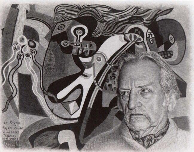 5/16- Happy Birthday, Alfred Pellan, Quebecois artist, painter, 1906-1988.