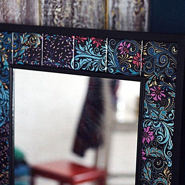 Еще одно зеркало, которое теперь живет у Дениса и Алены ...