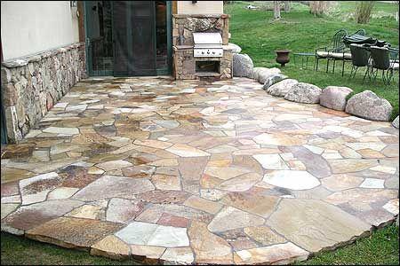 Oklahoma Flagstone Oklahoma Brown Flagstone Patio Stones Patio Flagstone Patio