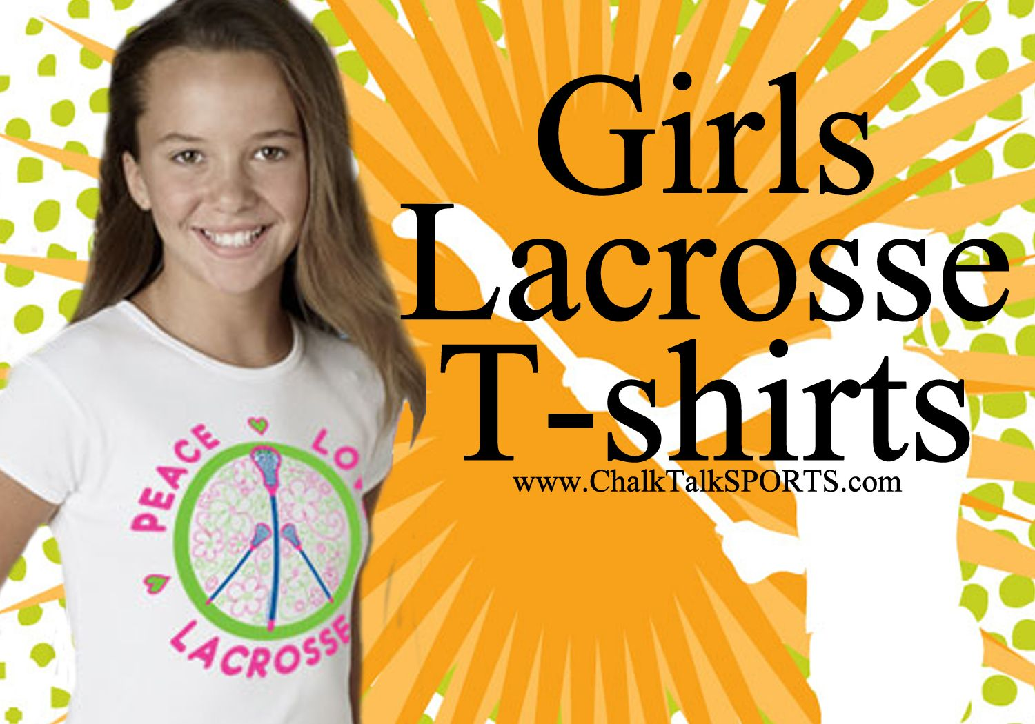 Exclusive Girls Lacrosse T-Shirt designs from ChalkTalkSPORTS.com. Liv'n Luv'n Lax'n! http://www.chalktalksports.com/Just_For_Girls_Lacrosse_Tees_s/13145.htm