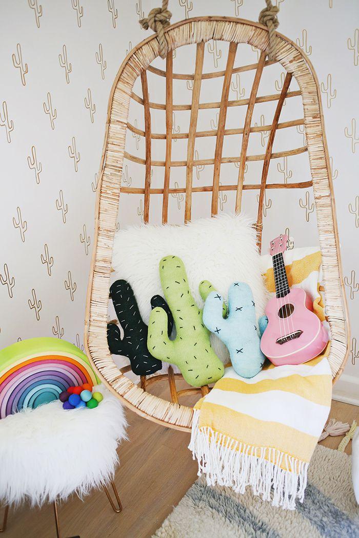 Original habitaci n infantil con aire californiano for Habitacion infantil original