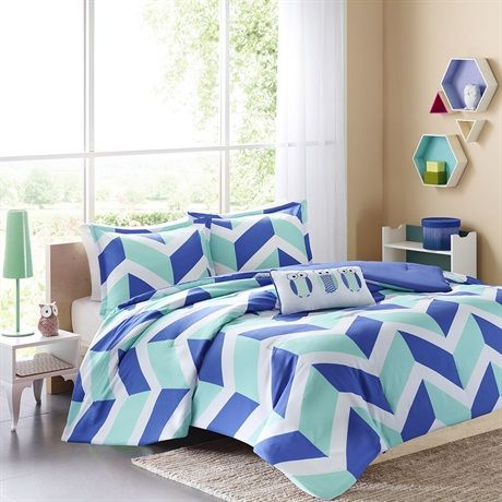 The Mi Zone Billie Comforter Set Gives A Modern Touch And