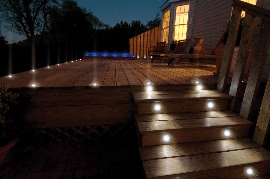 Solar Led Deck Lights Home Remodeling Lighting