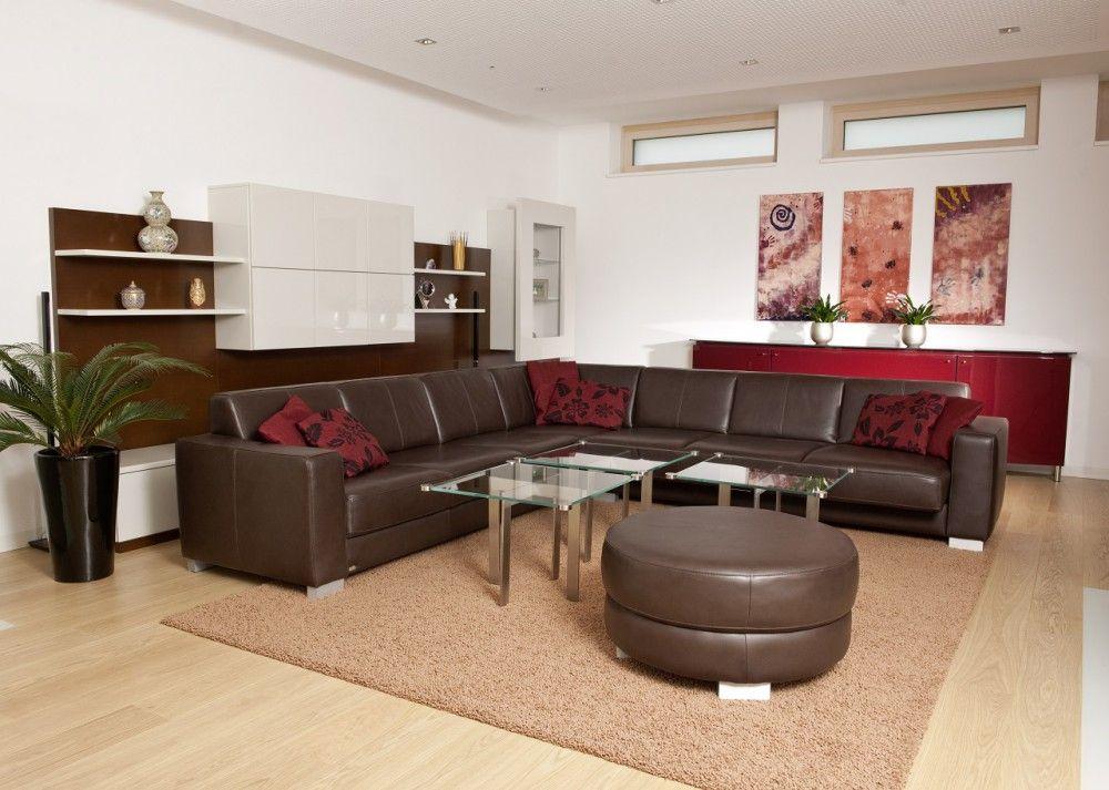 Im #Wohnzimmer unseres Projekts in #Marchtrenk entsteht durch die - bilder wohnzimmer rot