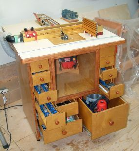 Here is the router table i built from plans by norm abrams i here is the router table i built from plans by norm abrams i modified it greentooth Image collections