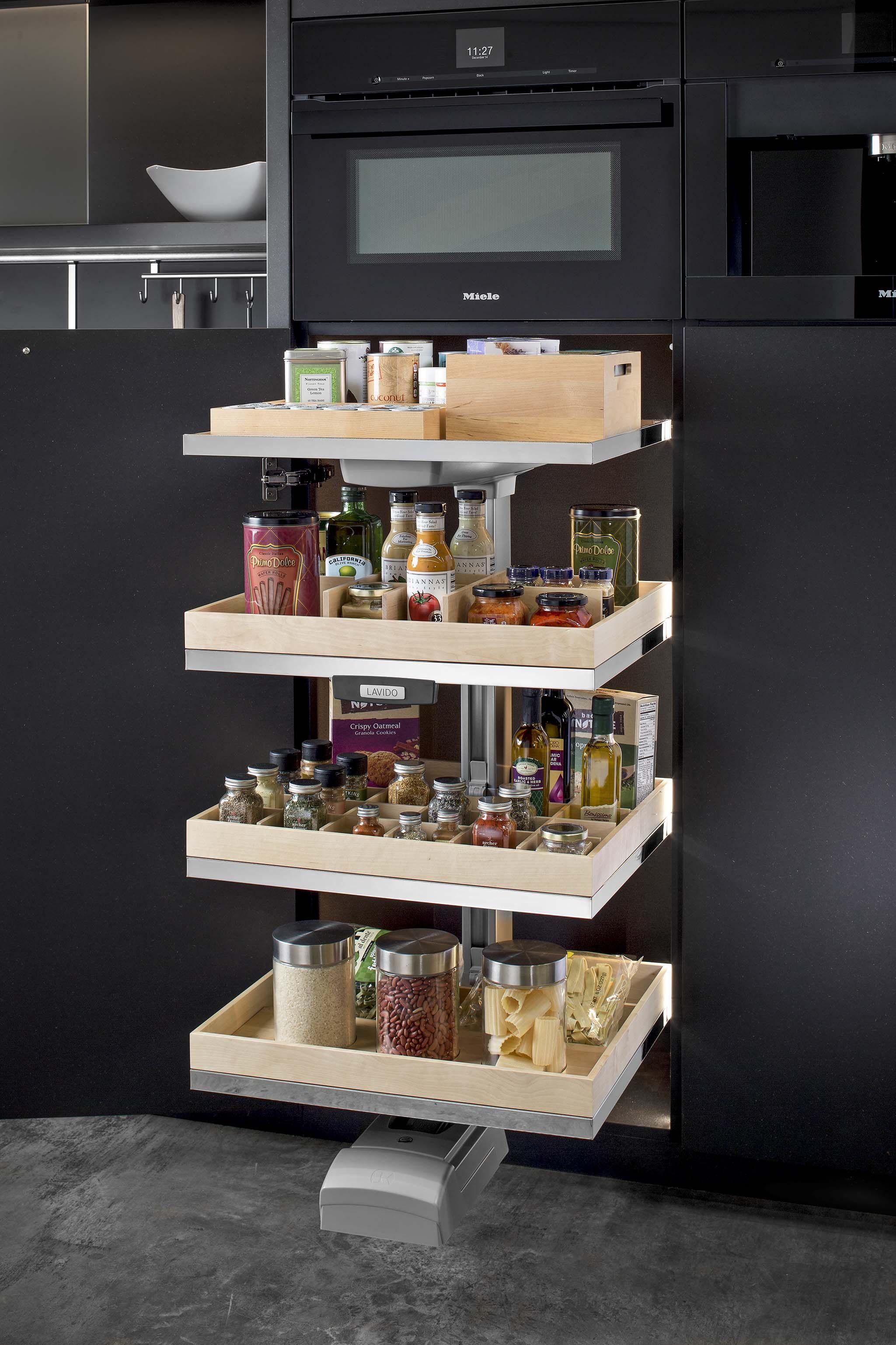 Hafele Lavido Pantry Kitchen Ideas Pinterest Armario De  # Tiradores Para Muebles Hafele