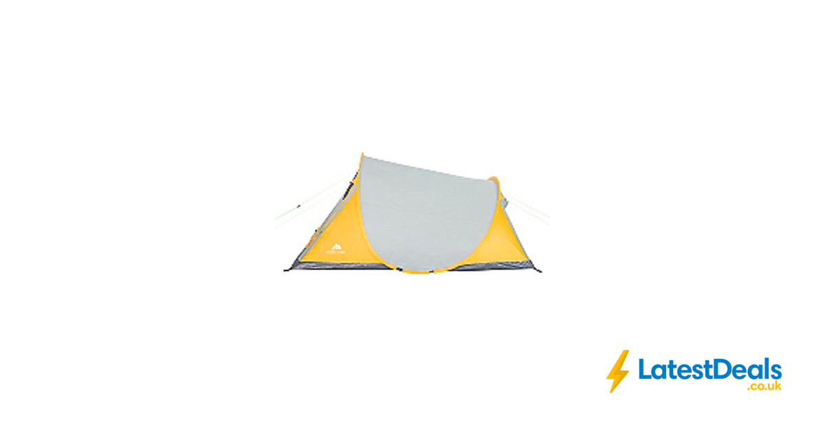 sale retailer fef8a 3bf5b Ozark Trail Yellow 2-Person Pop-up Tent Free C&C, £16 at ...