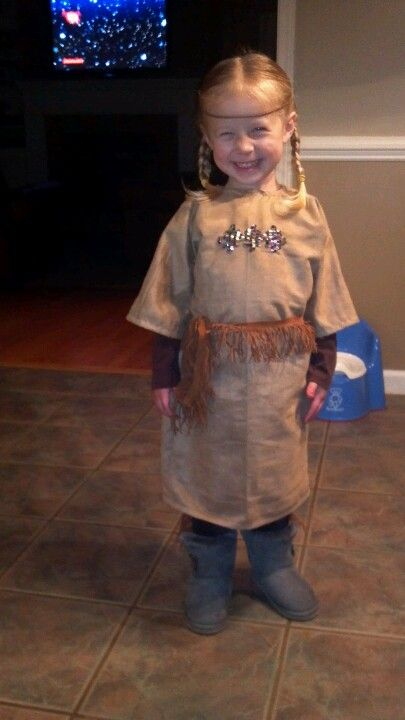 Toddler girl home made indian costume for the home pinterest toddler girl home made indian costume solutioingenieria Images