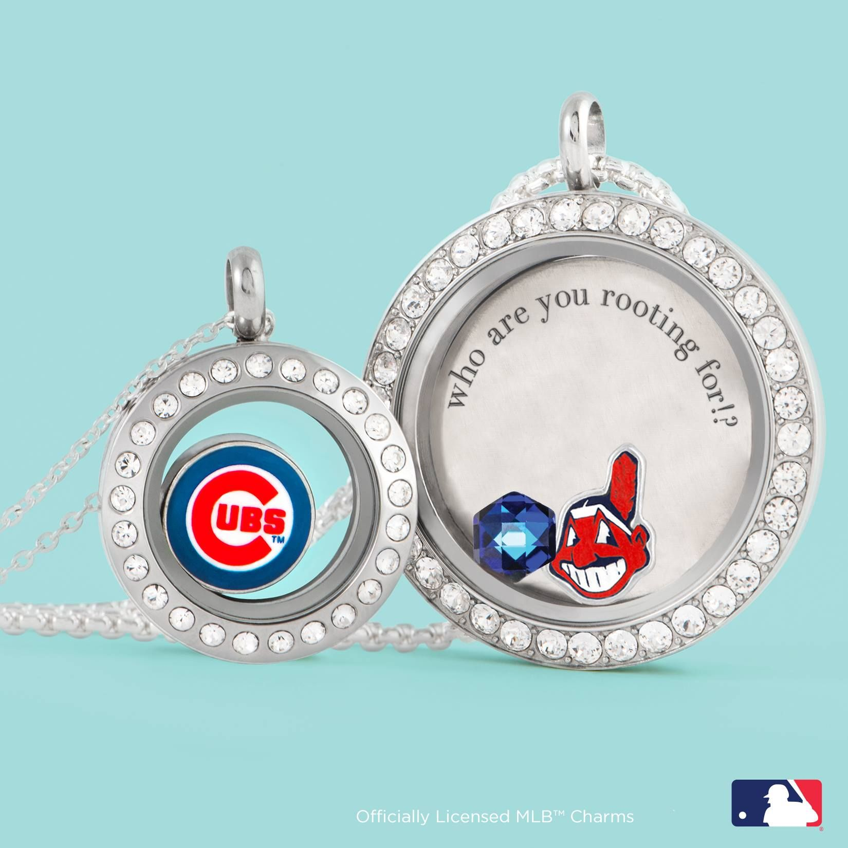 Origami Owl. Who will be the 2016 MLB World Series Champion? www.CharmingLocketsByAline.OrigamiOwl.com