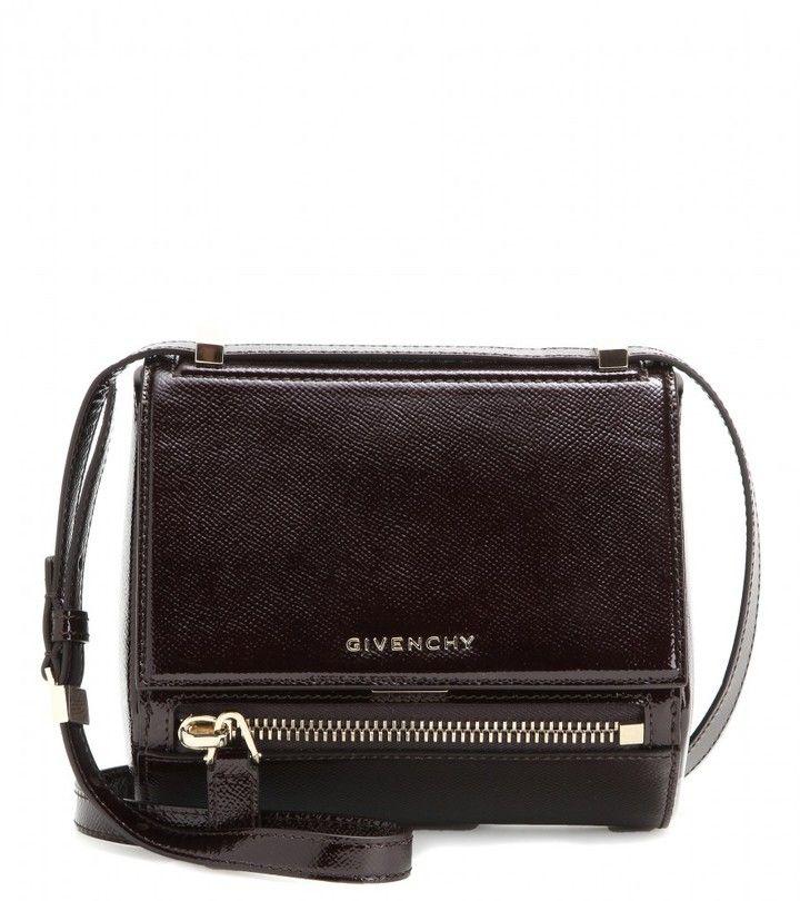 6f66ab26f6ef Trending on ShopStyle - Givenchy Pandora Box Mini Patent Leather Shoulder  Bag