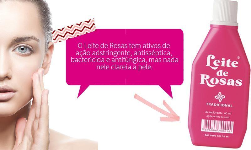 Leite De Rosas Com Bicarbonato Clareia A Pele Leite De Rosa
