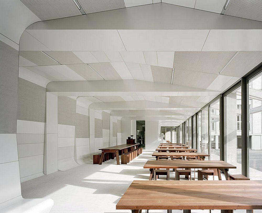architecture now: cafeteria kirschgarten, basel, switzerland