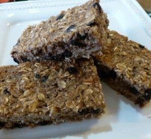 Baked Oatmeal Bars (cookie-like)