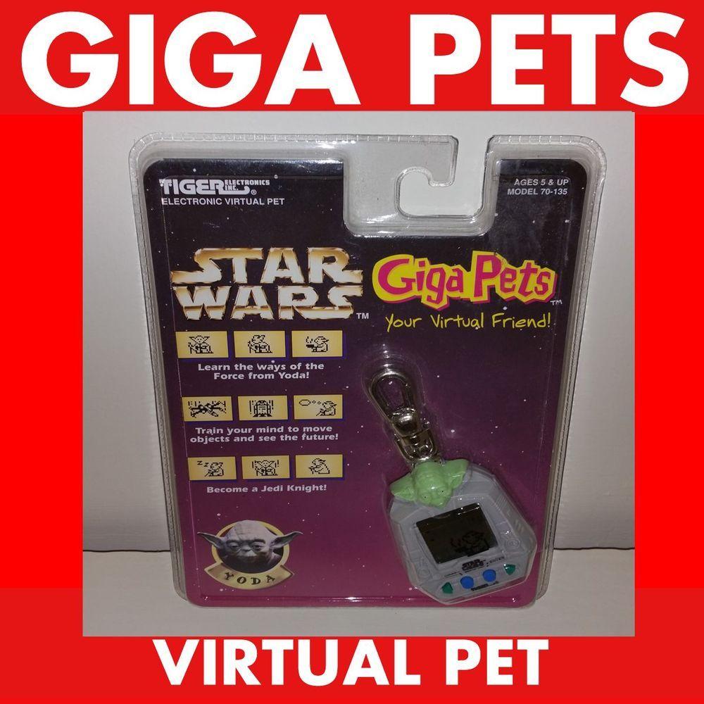 Adopt Me Giga Pet Yoda Star Wars Virtual Nano Pet Furby Tamagotchi Rare Giga Pet Vintage Toys For Sale Virtual Pet