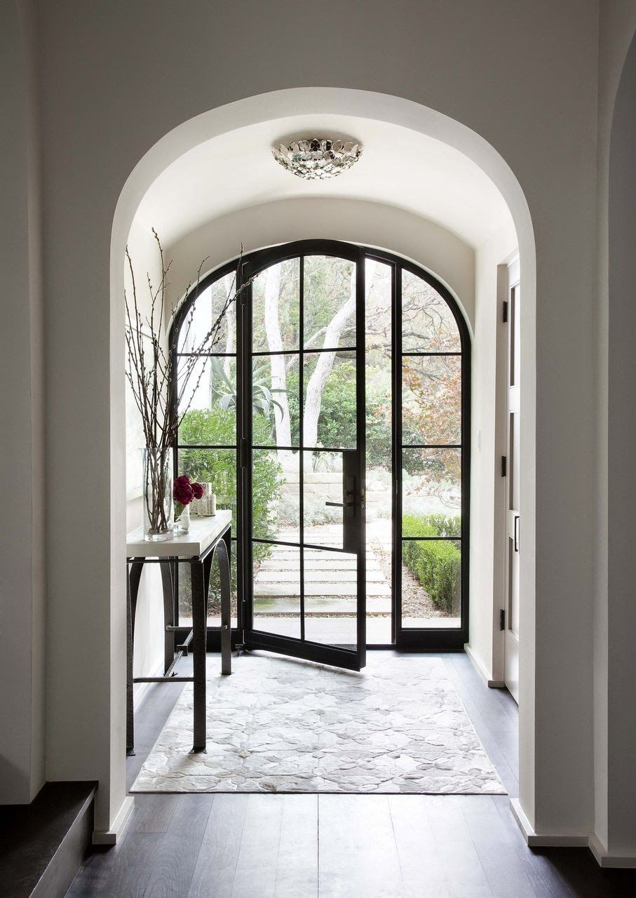 My Kind Of Glass Front Doors Interior Inspiration Pinterest