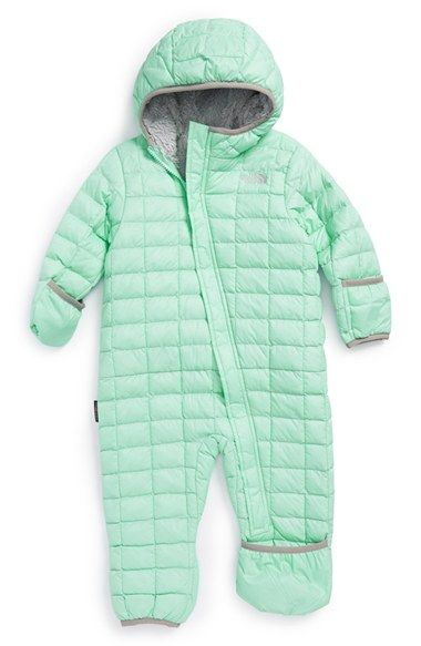 57c24b4db The+North+Face+'ThermoBall™'+PrimaLoft®+Bunting+(Baby+Girls)+ ...