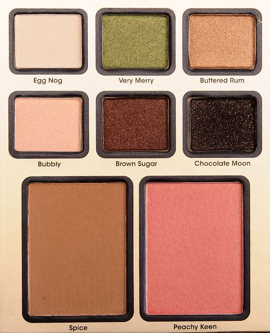 Too Faced Be Merry, Be Bright Makeup Palettes Reviews, Photos, Swatches