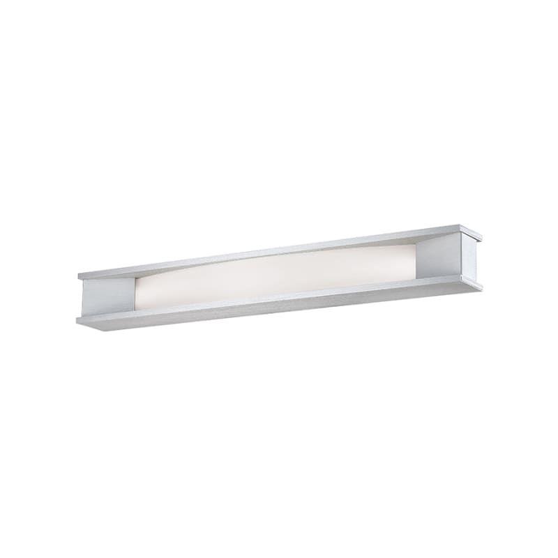 "WAC Lighting WS-90627 Fuse 27"" Wide Integrated LED Bath Bar - ADA Compliant Brushed Aluminum Indoor Lighting Bathroom Fixtures Bath Bar"