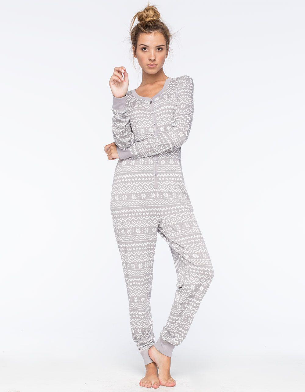 7c2ea7bd7 Cosmic Love Fair Isle knit onesie. This soft pajama romper features ...