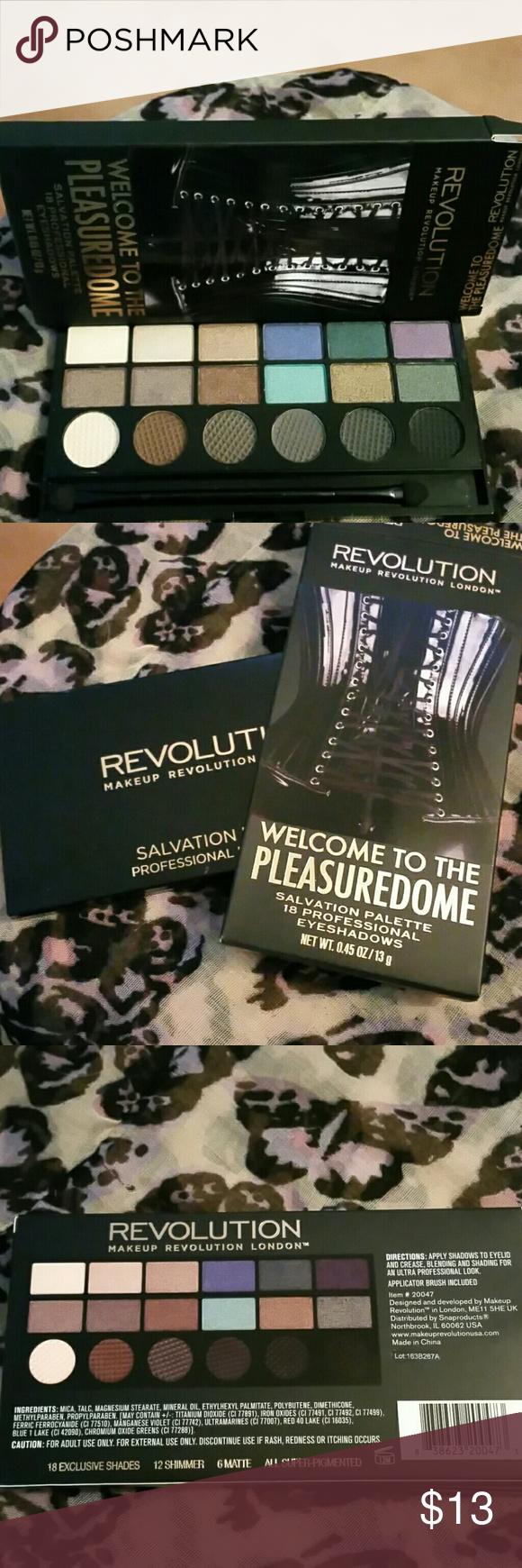 HoldSalvation palette nib, pleasuredome revolution