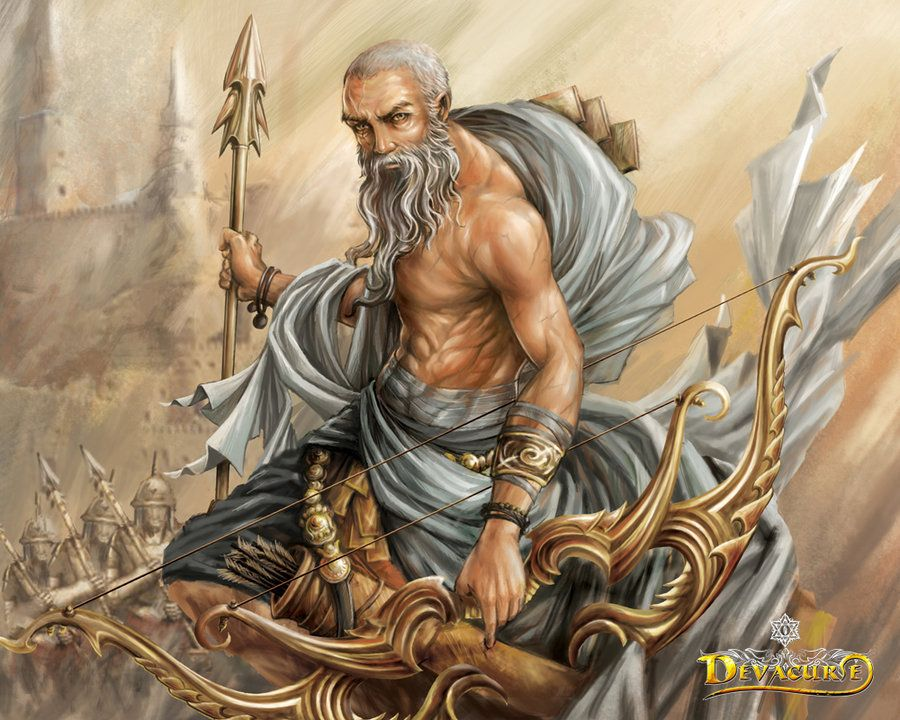Dronacharya by SARYTH.deviantart.com on @deviantART | Fantasy male ...