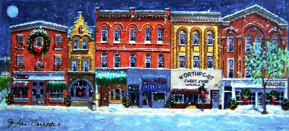 Main Street, Northport, LI, NY Northport, Christmas in
