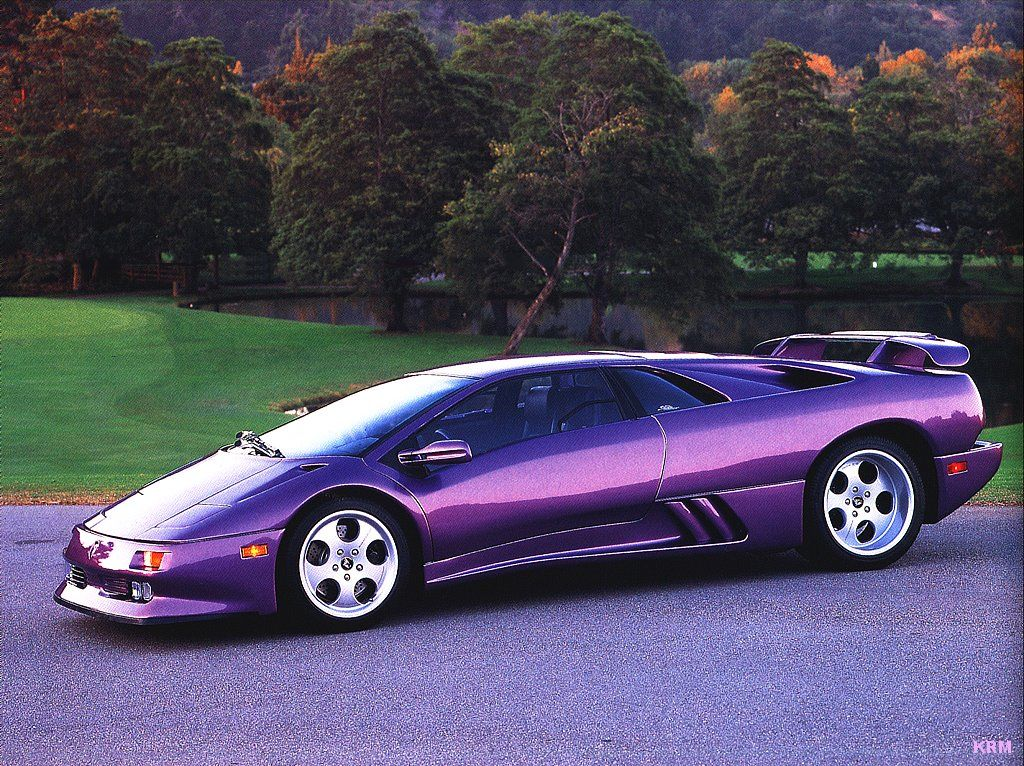 Purple Cars Cars And Stars Lamborghini Diablo Lamborghini
