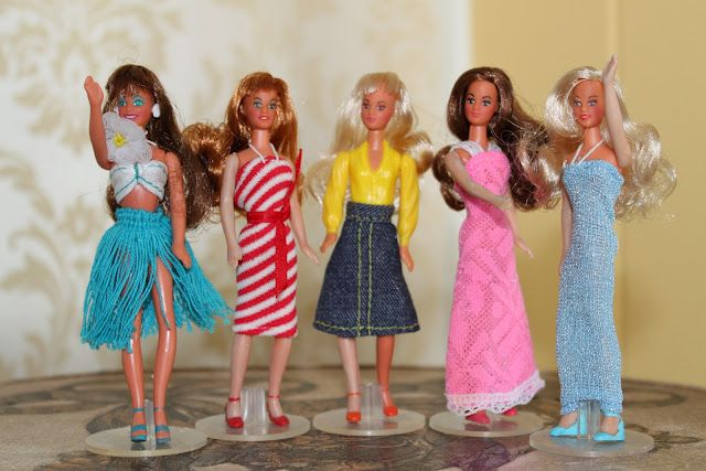 Glamour dolls from the 80's. I had tons of these.